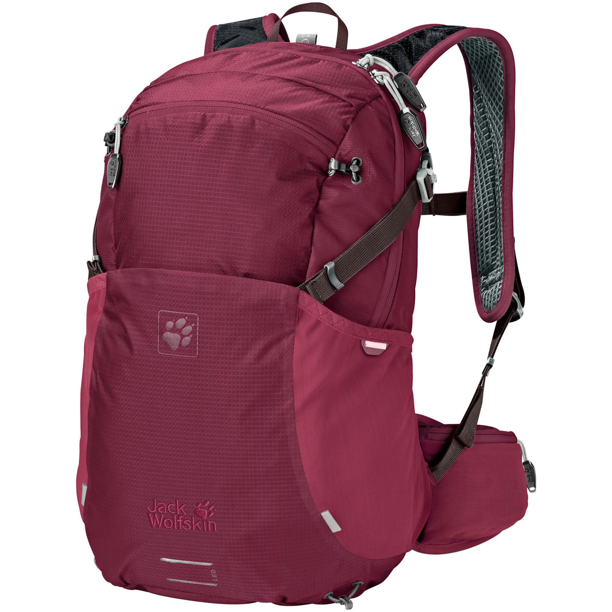 jack wolfskin moab jam 18 backpack damen dark ruby. Black Bedroom Furniture Sets. Home Design Ideas